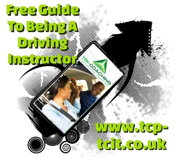 Free guide to being a driving instructor